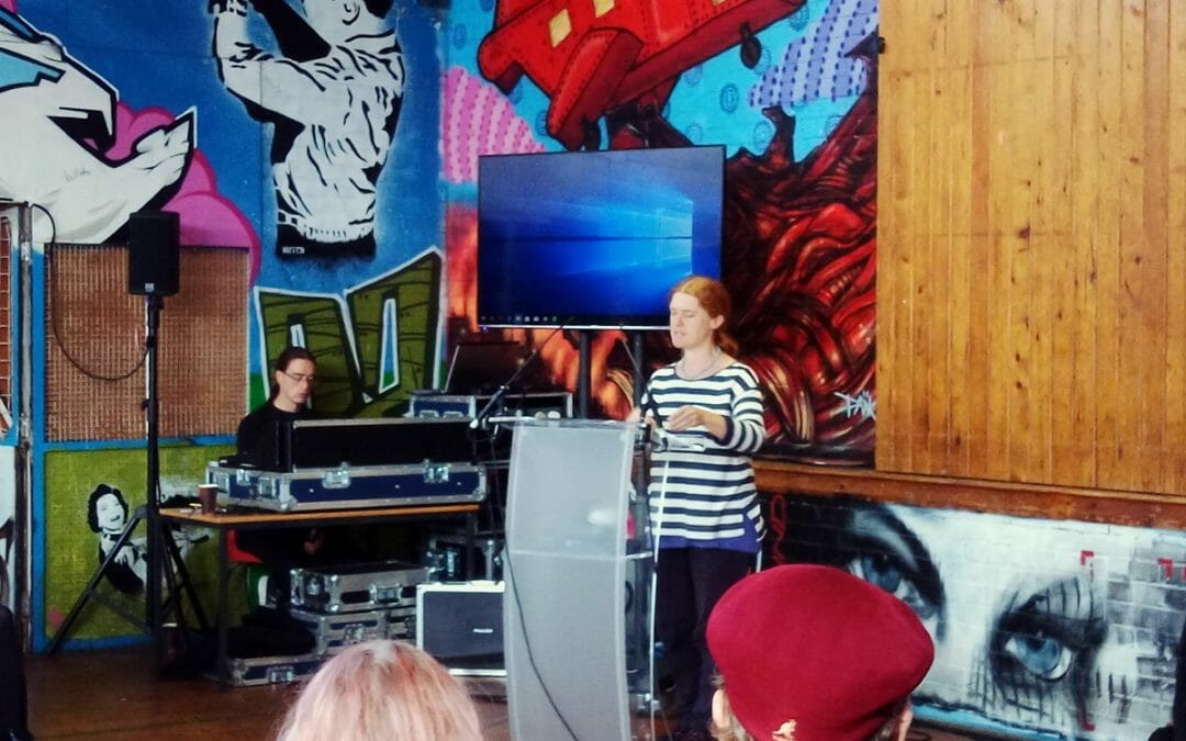Hearing from @tania_dsc at the #politicsofspace event @BtnYouth on the ethical and practical challenges of creating and curating space for artists and youth workers. #youthworkpic.twitter.com/6nke4QmmF5