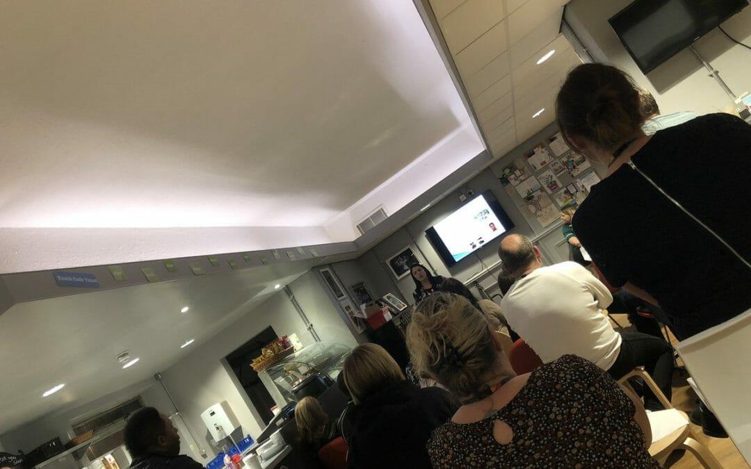 HIV training with Warrington Bridgewater Sexual health team   #warringtonYouthServicepic.twitter.com/zt5OS0rxjk