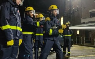 Fire cadets receive £1.1m from London mayor