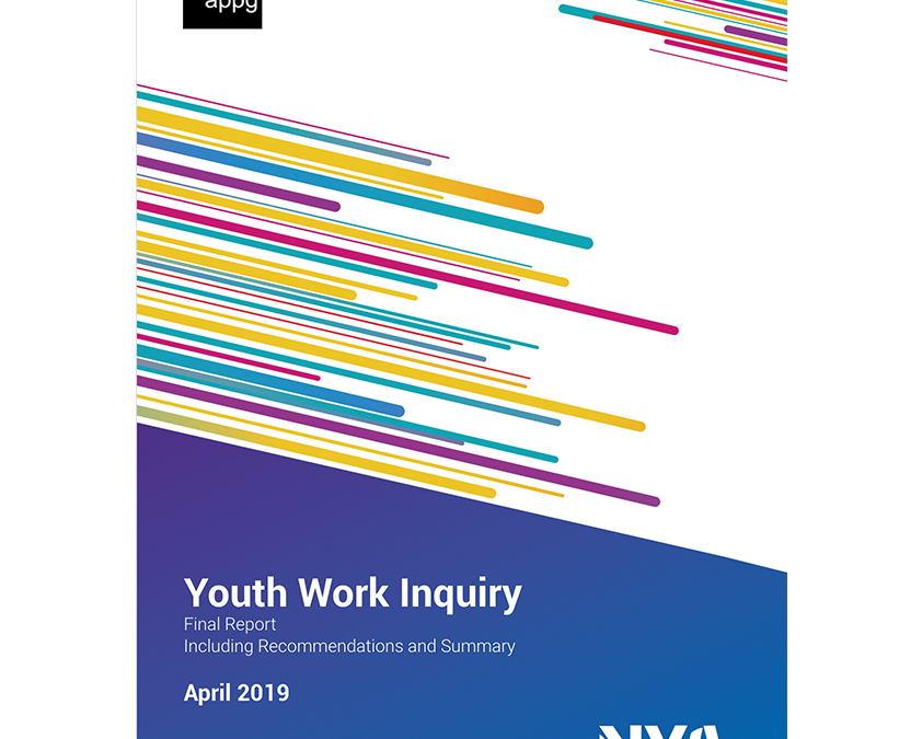 LAUNCHED: APPG for Youth Affairs Youth Work Inquiry Report 2019: Six recommendations calling for a dedicated minister, greater investment, statutory duty, role for Local Gov, workforce strategy & quality standards.  https://nya.org.uk/appg-inquiry/   @natyouthagency @YouthAPPG #YouthWorkpic.twitter.com/8SIdEgnEFh