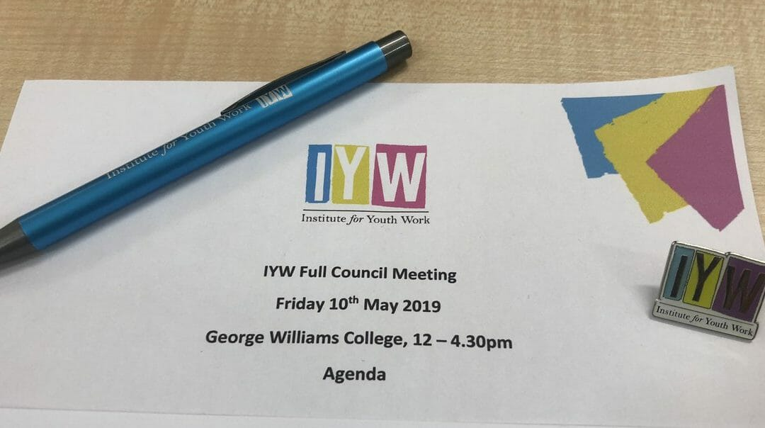 Great to be given the #opportunity 'word of the day for me' in being a council member for the @iyw_tweets look forward in working with everyone at the council & other bodies supporting #YouthWorkpic.twitter.com/RvT3yu1va9
