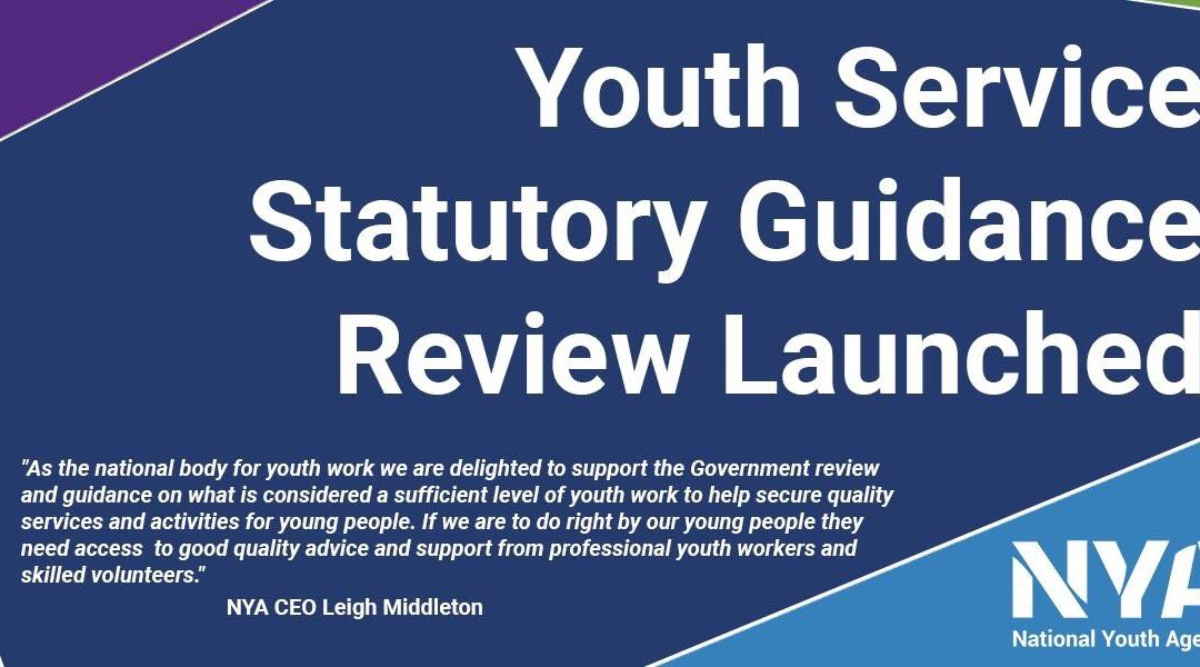 BREAKING NEWS: Today @mimsdavies announced the launch of the Statutory Guidance for Youth Services Review. @natyouthagency and @LGAChildren are supporting this review through the National Advisory Board for Youth Services (NYA initiative).pic.twitter.com/RVtyGKxOyE
