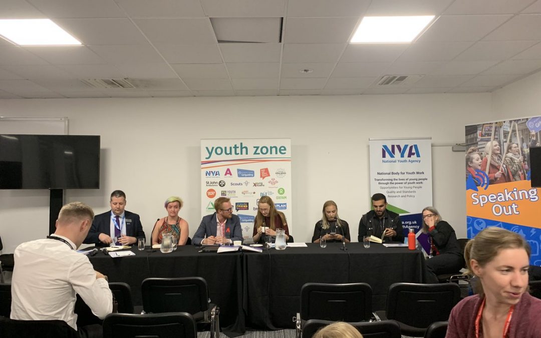 Panel ready to discuss all things youth affairs with more to come on the Labour position @CatSmithMP @lloyd_rm @natyouthagency #Lab19 #yzonepic.twitter.com/4gYbGWZCMH