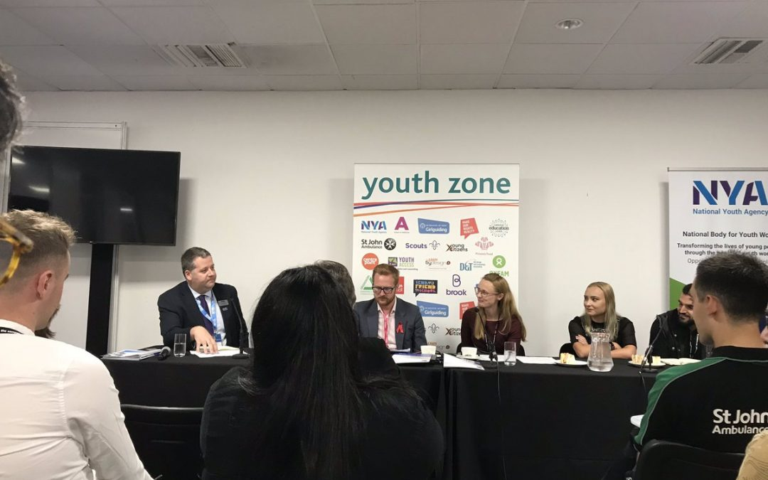 Why isn't there more anger at cuts to youth services?   @LeighNYA from #iwill partner @natyouthagency highlighting that £1bn has been cut from youth services over the last nine years #Lab19pic.twitter.com/Vi934WHGYr